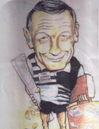 Caricature of Ross
